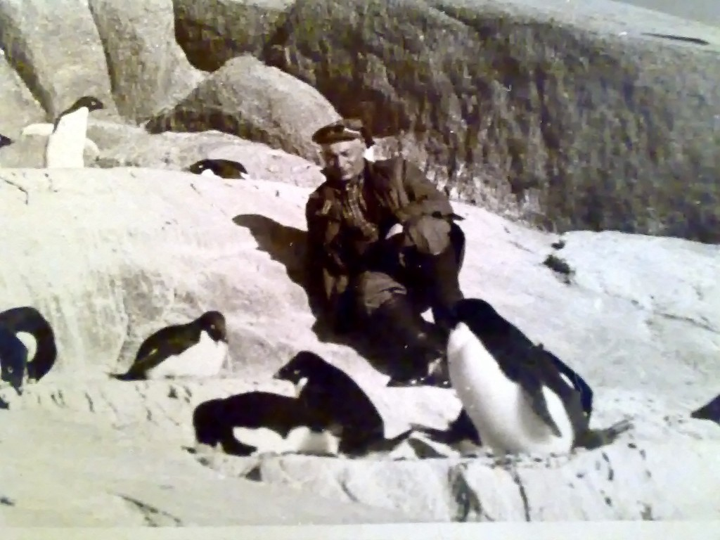 Мой дядя Кунин Владимир на Антарктиде