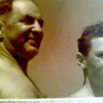 С лева мой отец Кунин Капитон Михайлович, с права его сын Кунин Михаил Капитонович